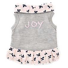 """ED Ellen DeGeneres """"Joy"""" Floral Dog Dress"""