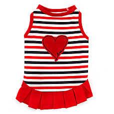 ED Ellen DeGeneres Love Heart Dog Dress
