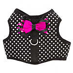 Top Paw®  Polka Dot Bow Dog Vest Harness