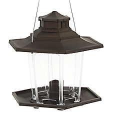 More Birds™ SureFill No Spill Plastic Lantern Feeder