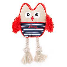 ED Ellen DeGeneres Owl Love Dog Toy - Plush, Rope
