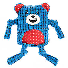 ED Ellen DeGeneres Bear Dog Toy - Plush, Squeaker