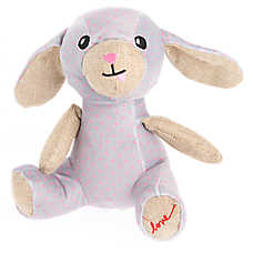 ED Ellen DeGeneres Love Bunny Plush Dog Toy - Plush, Squeaker