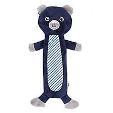 ED Ellen DeGeneres Flattie Bear Dog Toy - Crinkle