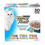 Fancy Feast® Grilled Collection Cat Food - Seafood, Variety Pack, 30ct