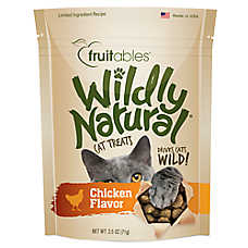 Fruitables® Wildly Natural Cat Treat - Natural, Limited Ingredient, Chicken