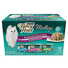 Fancy Feast® Medleys® Adult Cat Food - Florentine Collection, Variety Pack, 18ct