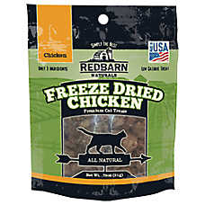 Redbarn Naturals Freeze Dried Chicken Cat Treat - Natural