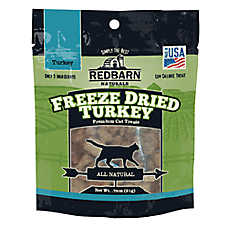 Redbarn Naturals Freeze Dried Turkey Cat Treat - Natural