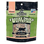 Redbarn Naturals Freeze Dried Whitefish Cat Treat - Natural
