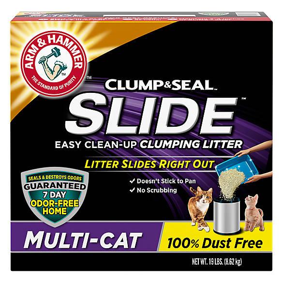 Arm Hammer Slide Clumping Cat Litter