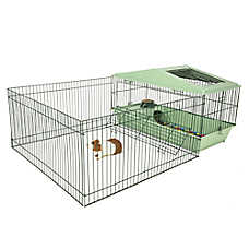 All Living Things® Guinea Pig Home with Playpen