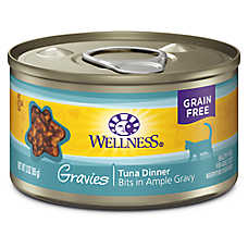 Wellness® Gravies Adult Cat Food - Grain Free, Tuna Entree