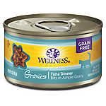 Wellness® Gravies Adult Cat Food - Grain Free, Tuna Entree