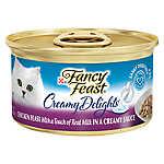 Fancy Feast® Creamy Delights Adult Cat Food - Chicken in Sauce