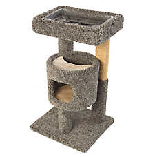 Whisker City® Diner & Playhouse Cat Tower (COLOR VARIES)