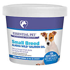 21st Century 10 Lbs & Under Skin & Coat Dog Soft Chews