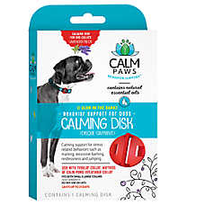 Calm Paws Behavior Support™ Calming Disk Glow-in-the-Dark Collar Medallion