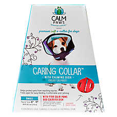 Calm Paws Behavior Support™ Caring Dog Collar with Calming Gel Patch