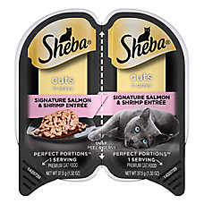 SHEBA® Perfect Portions Cat Food - Salmon & Shrimp