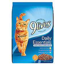 9Lives Daily Essentials Adult Cat Food - Chicken, Beef & Salmon