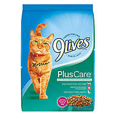 9Lives Plus Care Cat Food - Tuna & Egg