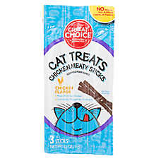 Grreat Choice® Meaty Sticks Cat Treat - Chicken