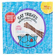 Grreat Choice® Meaty Sticks Cat Treat - Salmon