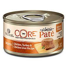 Wellness® CORE® Cat Food - Grain Free, Chicken, Turkey & Chicken Liver, Pate