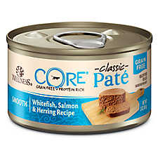Wellness® CORE® Classic Pate Cat Food - Natural, Grain Free, Whitefish, Salmon & Herring