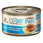 Wellness® CORE® Classic Pate Cat Food - Natural, Grain Free, Whitefish, Salmon & Herring