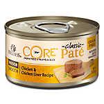 Wellness® CORE® Classic Pate Indoor Cat Food - Natural, Grain Free, Chicken & Chicken Liver