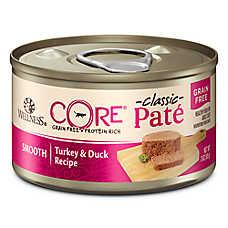Wellness® CORE® Classic Pate Cat Food - Natural, Grain Free, Turkey & Duck