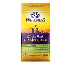 Wellness® Complete Health Kitten Food - Natural, Grain Free, Chicken & Chicken Meal