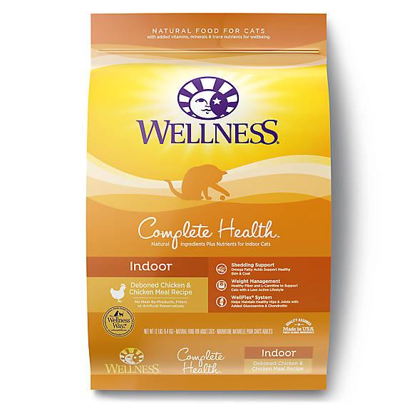 Wellness Complete Health Indoor Cat Food Natural Chicken