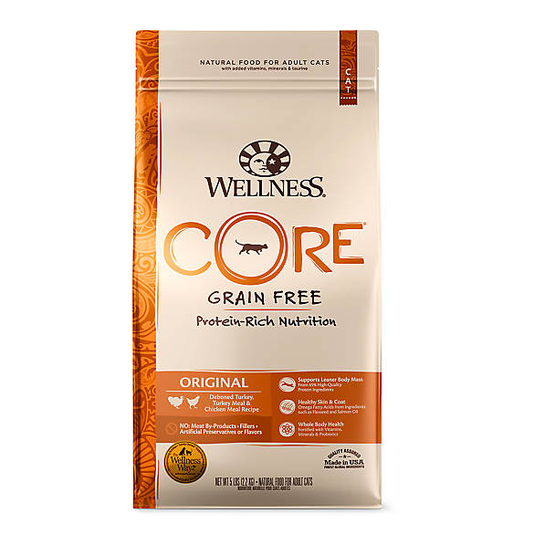 Wellness 174 Core 174 Adult Cat Food Natural Grain Free