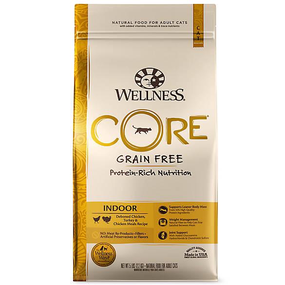 Wellness 174 Core 174 Indoor Adult Cat Food Natural Grain