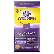 Wellness® Complete Health Healthy Weight Adult Cat Food - Natural, Chicken, Chicken & Turkey Meal