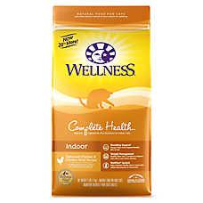 Wellness® Complete Health Indoor Cat Food - Natural, Chicken & Chicken Meal