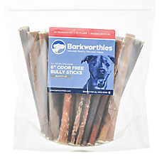 "Barkworthies Odor Free 6"" Bully Sticks Dog Chew - Natural"