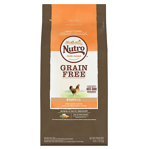 Nutro Dog Food Puppy Grain Free