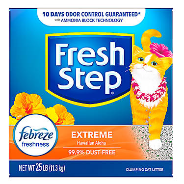 e1c1dc1ce49 Fresh Step® with Febreze Extreme Cat Litter - Clumping