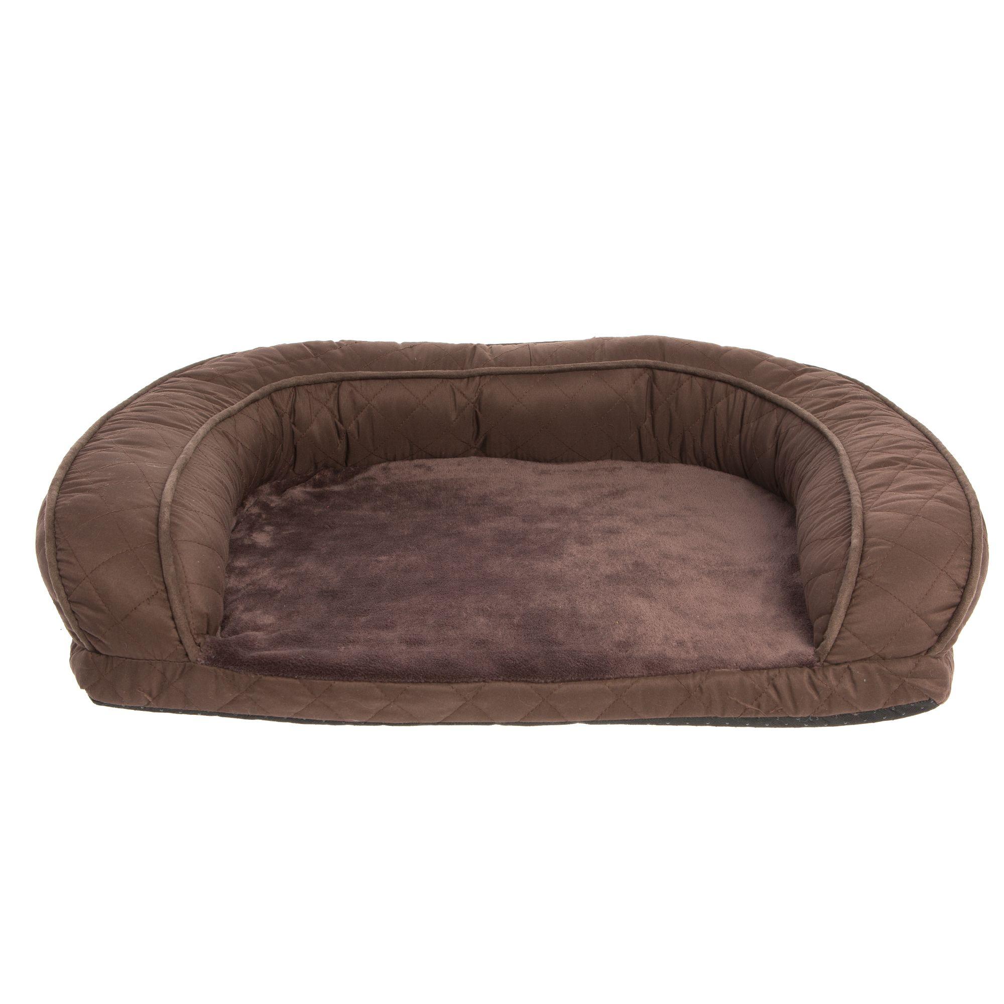 Top Paw Quilted Sofa Dog Bed dog Cuddler Beds PetSmart