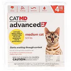 Cat MD™ Maximum Defense 5-9 lbs Advanced 2 Flea Treatment