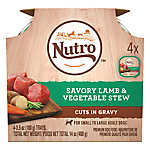 NUTRO™ Petite Eats Small Breed Adult Dog Food - Natural, Lamb & Garden Variety, Multipack, 4ct