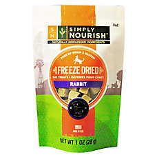 Simply Nourish™ Freeze Dried Cat Treat - Natural, Grain & Gluten Free, Rabbit