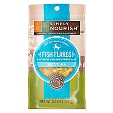 Simply Nourish™ Fish Flakes Cat Treat - Natural, Grain Free, Gluten Free, Tuna