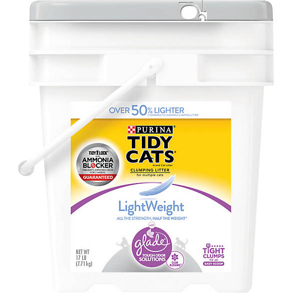 Purina Tidy Cats Glade Tough Odor Solutions Clear Springs Clumping Cat Litter, lb. Average rating: out of 5 stars, based on reviews reviews. Purina Tidy Cats. Walmart # This button opens a dialog that displays additional images for /5(K).