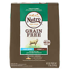 NUTRO™ Large Breed Adult Dog Food - Natural, Grain Free, Non-GMO, Lamb, Lentils & Sweet Potato