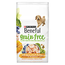 Purina® Beneful® Adult Dog Food - Grain Free, Gluten Free, Chicken